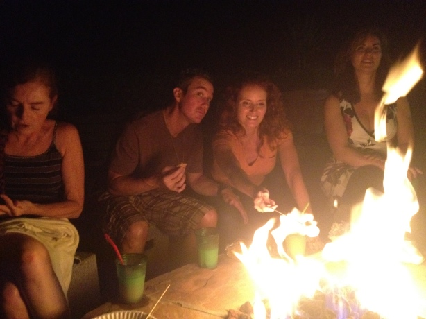 Angela And Phillip Smores Party