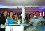 Dinner on A1A with Angela, Krista, Karen, Jorge, Chloe and Jeremy