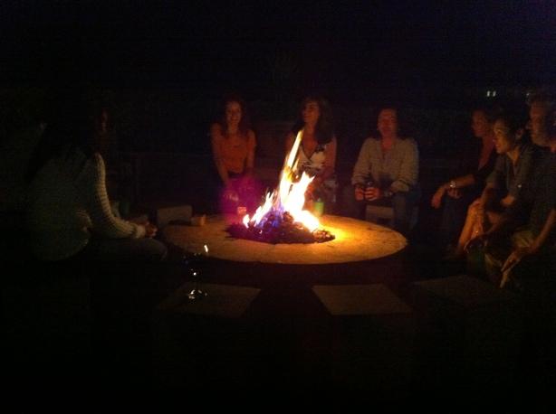 Yep, We Made Smores Around The Fire