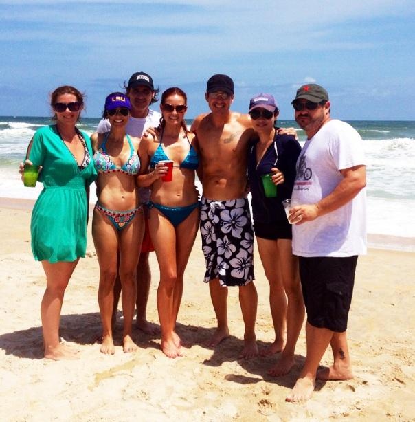 Family And Friends - Krista, Karen, Jorge, Angela, Phillip, Chloe and Jeremy
