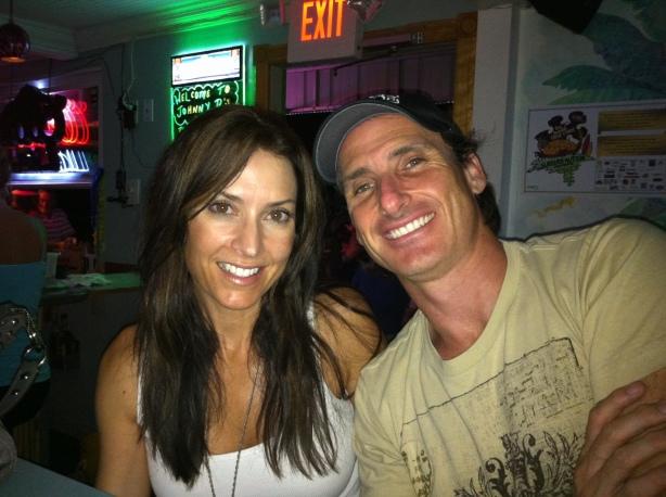 Jorge And Karen Dinner on A1A First Night