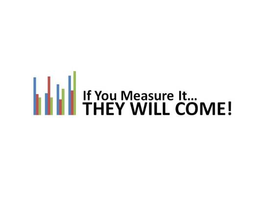 If you measure it...