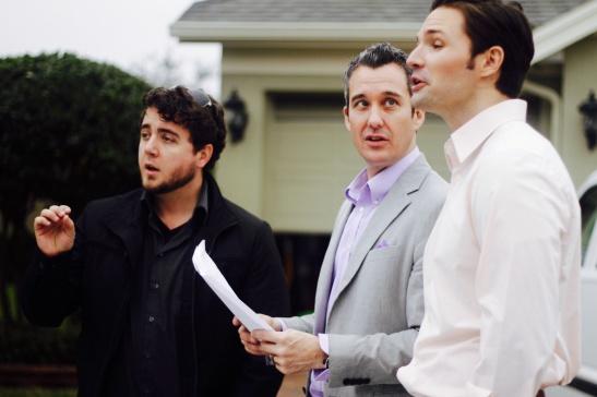 Spokesperson Scott Adams With Derek And Phillip