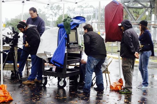 Rainy Set Up For Location #1